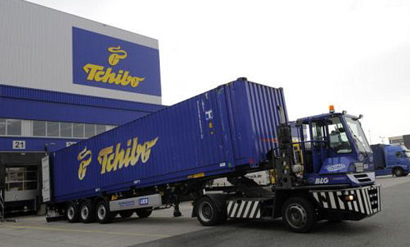 Tchibo; Logistik; Transport